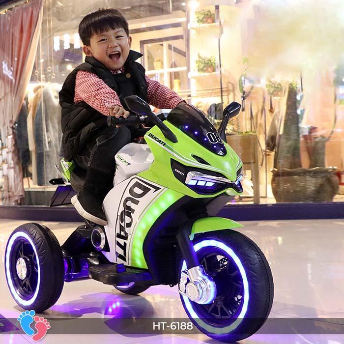 Xe mô tô điện thể thao Ducati HT-6188 3