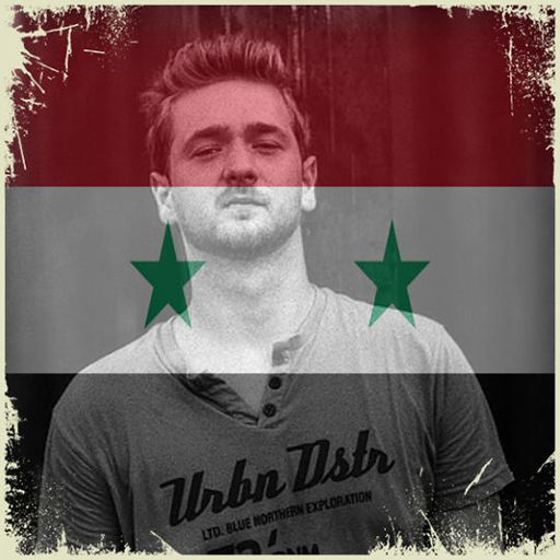 Syria Flag On Face Maker : Photo Editor