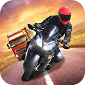 Racing in City - Moto Rider Highway Traffic