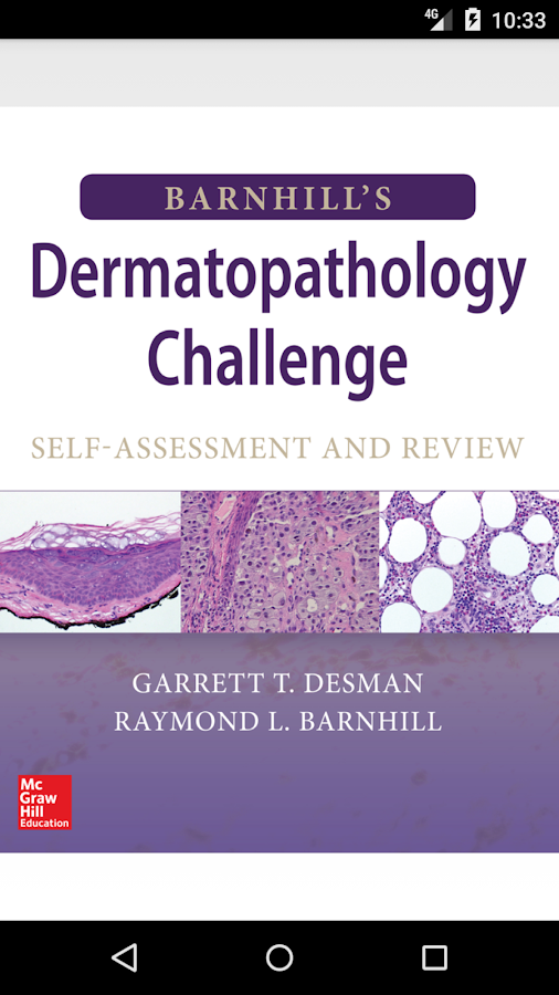 Barnhill's Dermatopathology Challenge- screenshot