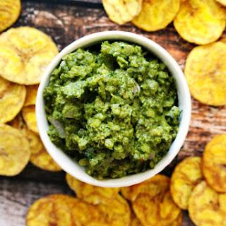 Lectin-free Vegan Basil Pesto and Cauliflower Rice Dip.