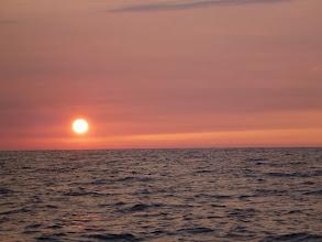 Photo: 日が沈みます。