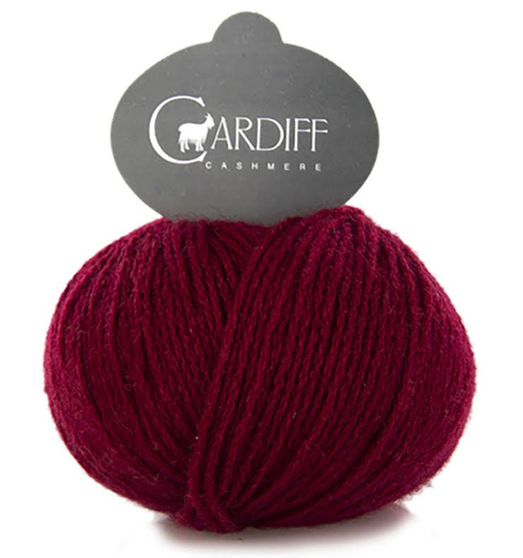 Cardiff Cashmere Classic Nr. 628 Granata