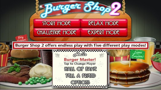 Burger Shop 2 Mod Apk – For Android 5