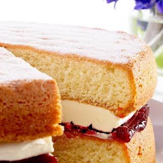 Classic Victoria Sponge Cake.