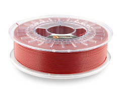 Fillamentum ExtraFill Pearl Ruby Red PLA Filament - 2.85mm (0.75kg)