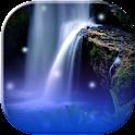 Водопад анимированные обои icon