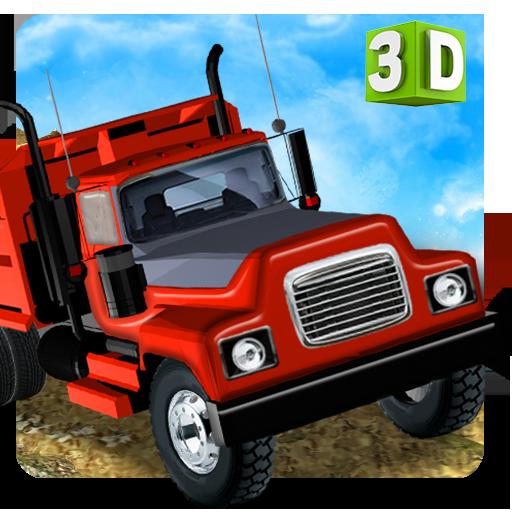 模拟の貨物トラックの高速駆動 LOGO-記事Game
