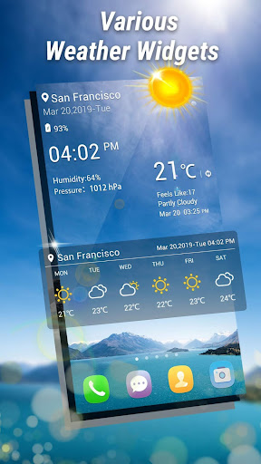Weather Forecast - Weather Radar & Weather Live 1.4.7 screenshots 2
