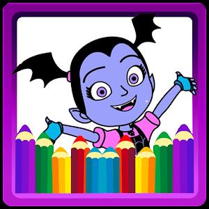 Coloring Book For Vampirina Apk Ultima Versiune 10 Jocuri