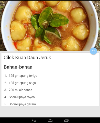 Download Aneka Resep Cilok Kuah Apk Latest Version App By