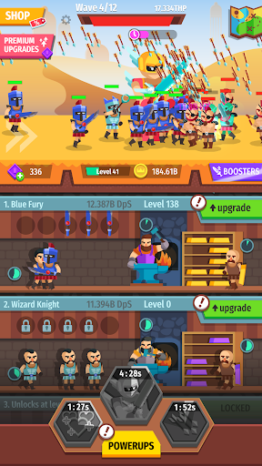 Gear for Heroes: Medieval Idle Craft 1.0.5 screenshots 1