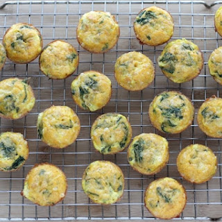Mexican Egg Muffins with Spinach.