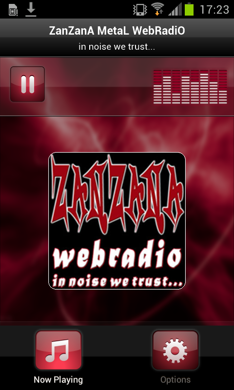 ZanZanA MetaL WebRadiO- screenshot