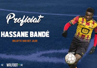 Hassane Bandé werd door lezers en journalisten van Voetbalkrant.com verkozen tot Belofte van het Jaar