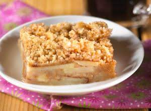 Vanilla Wafer Apple Crunch