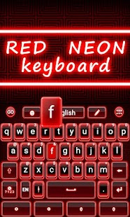 Red-Neon-GO-Keyboard-Theme 1