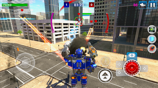 Mech Wars: Multiplayer Robots Battle Apk Download For Android and Iphone Mod Apk 2