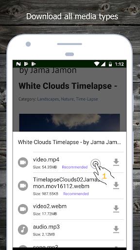 Video Downloader 1.4.4 screenshots 2