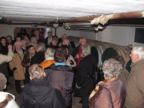 Photo: Im Keller der Nordhäuser Traditionsbrennerei
