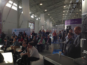 Photo: TechStageat #REAL2015 Main Hall