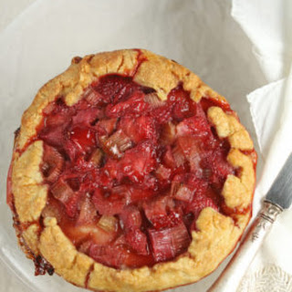 Rhubarb and Strawberry Galettes Recipe