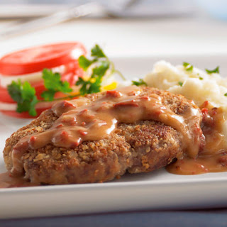 "Country-Fried ""Steaks"" with Chipotle Gravy"