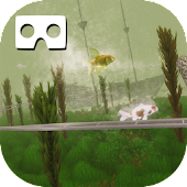 VR Goldfish And KOI Aquarium (Google Cardboard) Android APK Download Free By Romale Game Studio