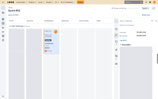 Jira Issue Copy