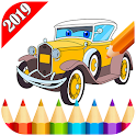 American Cars Coloring For Adult 2019 icon