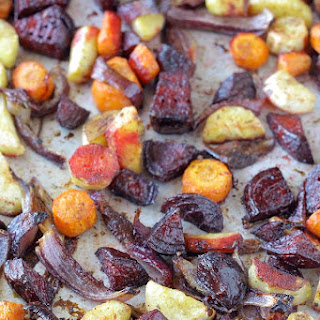 Balsamic Oven-Roasted Root Vegetables Recipe