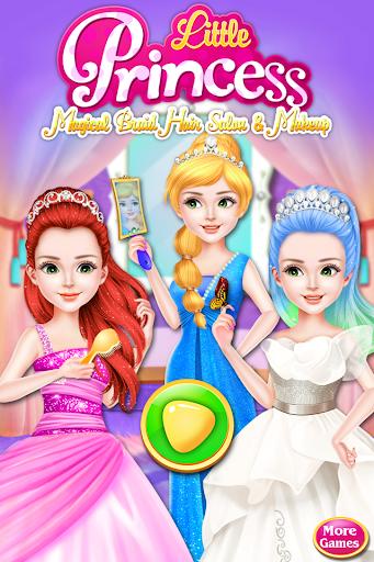 Little Princess Magical Braid Hairstyles Salon 1.9 screenshots 1