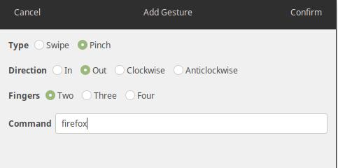Como configurar gestos do Touchpad no Ubuntu com Gestures