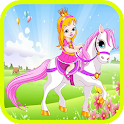 Princess And Flying Pony - NEW icon