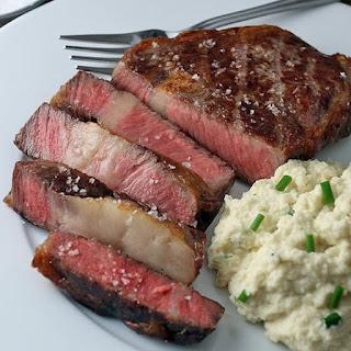 Best Grilled New York Strip Steaks.