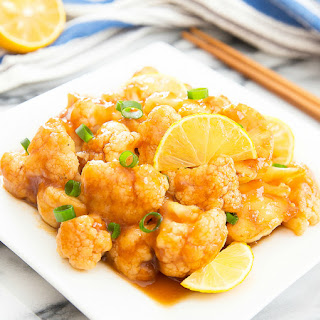 Honey Lemon Cauliflower