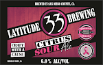 Latitude 33 Citrus Sour Ale