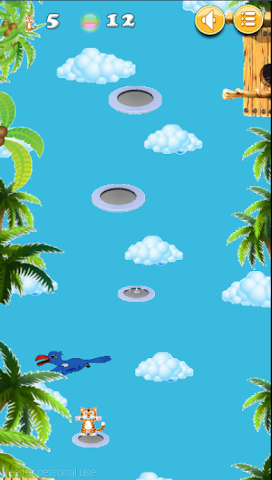 android Happy Tiger Jump Screenshot 2