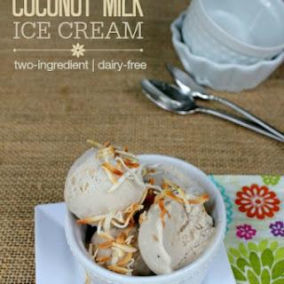 Coconut Milk Ice Cream