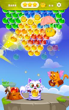 バブルシューター:無料猫ポップゲーム2019のおすすめ画像4