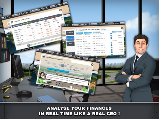 Airlines Manager - Tycoon 2018  screenshots 9