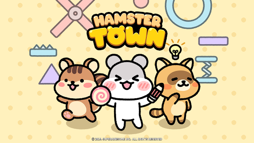 Hamster Town, the cutest drawing puzzle game ever screenshots 7