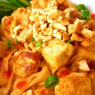 Easy Vegan Pad Thai.