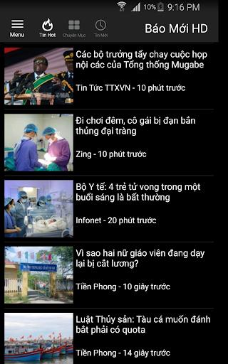 Báo Mới HD - doc bao moi tin tuc 24h screenshot 6