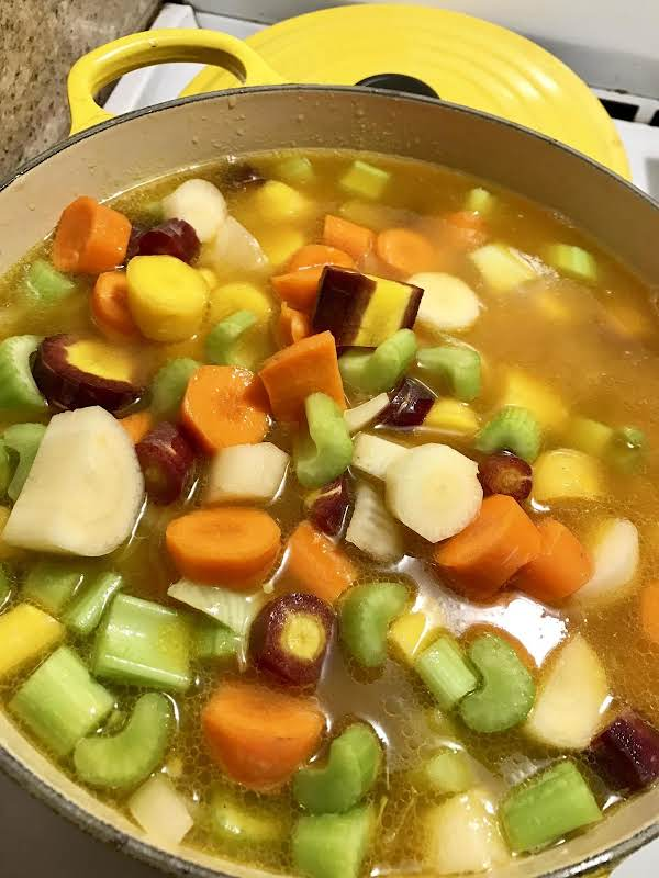Simmer Low Don't Boil All The Vitamins Out.