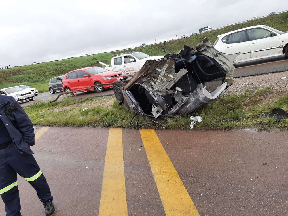 Five killed in horror crash on N14 in Centurion - SowetanLIVE