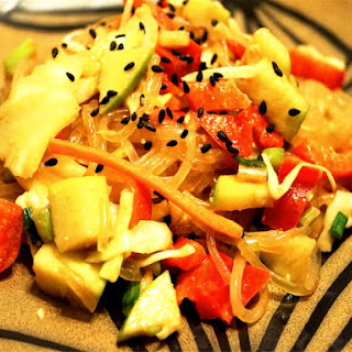 Cold Asian Noodle Salad.