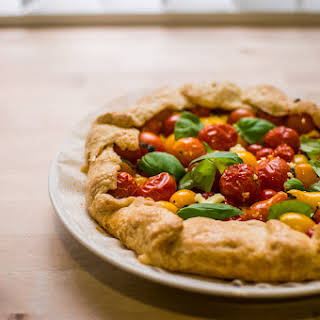 Cherry Tomato Tart.