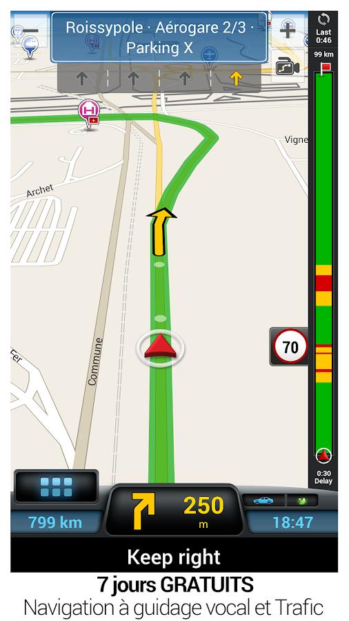 CoPilot GPS - Navigation– Capture d'écran