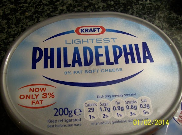 This is the low calorie Philadelphia cheese .